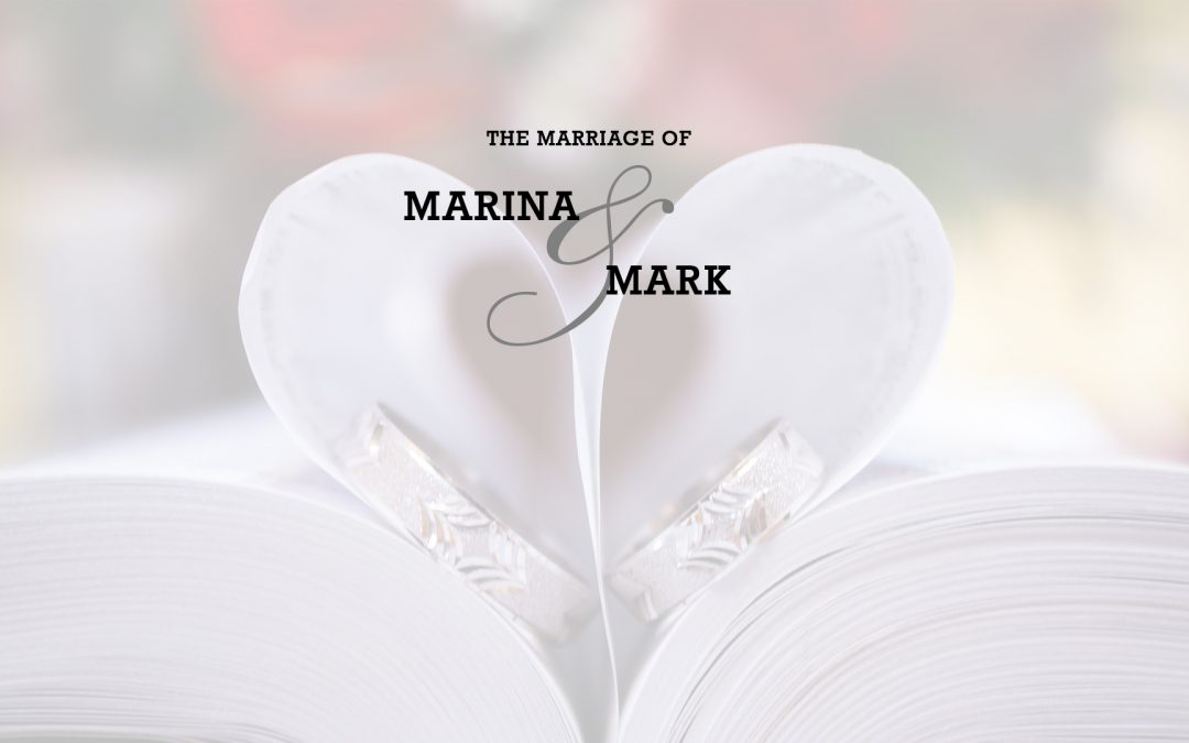 The Marriage of Marina and Mark